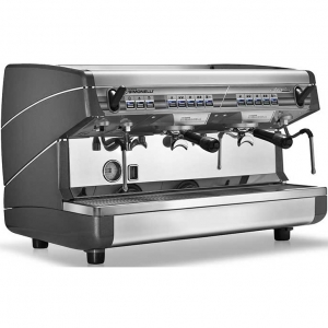 Кофемашина-автомат, 2 группы (выс.), бойлер 11л, черная, 220V, экон.