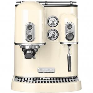 Кофемашина Artisan Espresso, 2 бойлера, кремовая