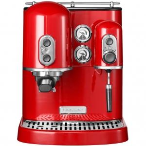 Кофемашина Artisan Espresso, 2 бойлера, красная