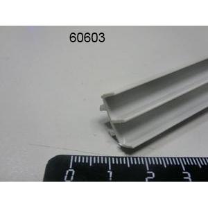 Направляющая дверей для витрин (1 метр)