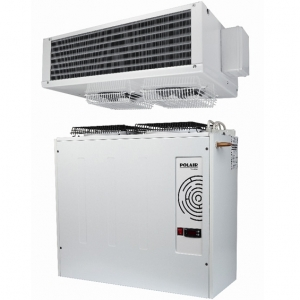 Сплит-система морозильная, д/камер до   9.40м3, -15/-20С, крепление вертикальное