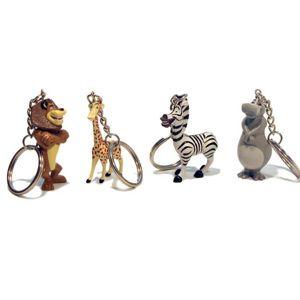 Брелок на ключи, «Madagascar2», 4 вида в ассортименте