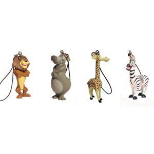 Брелок на телефон, «Madagascar2», 4 вида в ассортименте