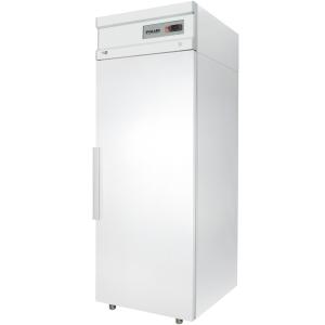 Шкаф морозильный,  500л, 1 дверь глухая, 4 полки, ножки, -18С, дин.охл., белый