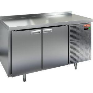 Стол холодильный, GN2/3, L1.39м, борт H50мм, 2 двери глухие, ножки, -2/+10С, нерж.сталь, дин.охл., агрегат справа