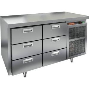 Стол холодильный HICOLD GN 33/TN O