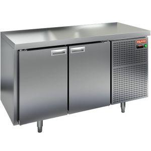 Стол холодильный, GN2/3, L1.39м, без борта, 2 двери глухие, ножки, -2/+10С, нерж.сталь, дин.охл., агрегат справа
