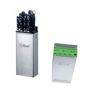Подставка для ножей (без вставки), нерж.сталь