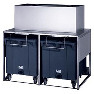 Бункер для чешуйчатого льда, 2х108+50кг, для льдогенераторов М350, М600