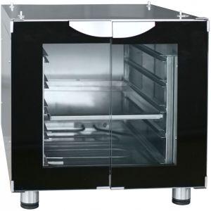Шкаф расстоечный,  4GN1/2, 2 двери распашные стекло, +30/+85С, нерж.сталь, 220V, ножки, электромех.упр., увлажнение