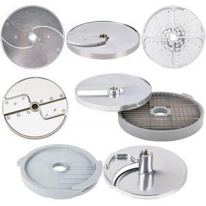 Комплект дисков-ножей для овощерезки-куттера R502, R652 и овощерезок CL50, CL50 Ultra, CL52, CL55, CL60, 8 шт.