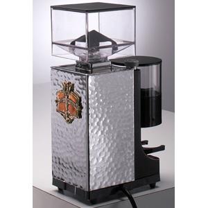 Кофемолка-полуавтомат, бункер 0.25кг, 5кг/ч, хром