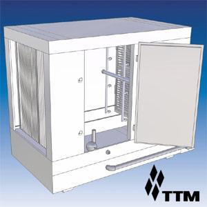 Гидрофильтр, сеч. 700х900мм, 4000-7000м.куб./ч, дв. слева