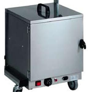 Шкаф тепловой для тарелок для тележки CB 980, 1 дверь, нерж.сталь