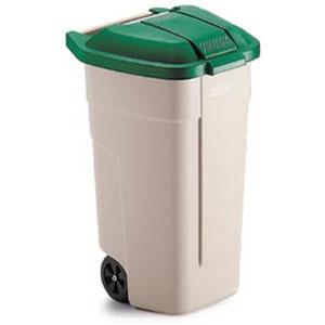 Крышка для контейнера на 110л. (63064), полиэтилен зеленый
