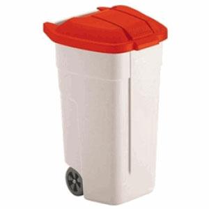 Крышка для контейнера на 110л. (63064), полиэтилен красный