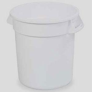 Контейнер BRUTE D 39,7см h 43,5см 37,9л, полиэтилен белый