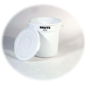 Крышка для контейнера BRUTE (65760), полиэтилен белый