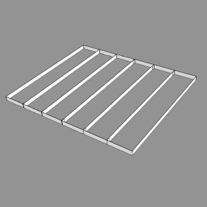 Разделитель для витрины ПП2-065/5.7