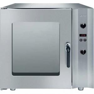 Печь электрическая конвекционная,  6GN1/1 или 6х(600х400мм), управление электронное, корпус нерж.сталь, предварительный нагрев, увлажнение