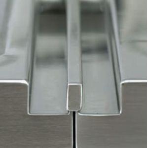 Профиль для боковой установки опрокидывающейся сковороды с другими элементами Optima850