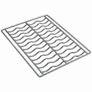 Решетка для багетов для печей конвекционных ALFA 43, ALFA43GH, ALFA43XE, 435х320мм, хромированная, комплект 4шт.