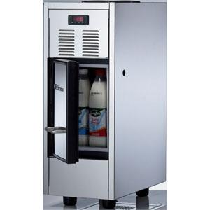 Холодильник для молока, 15л, серебристый