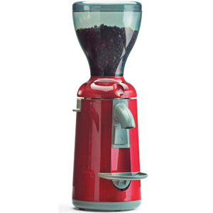 Кофемолка, бункер 0.5кг, 3.6кг/ч, красная