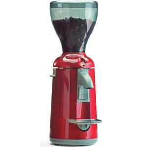 Кофемолка, бункер 0.5кг, 3.6кг/ч, электр.дозатор, красная