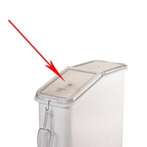 Крышка передняя откидная для IBS27-148 контейнера для сыпучих продуктов