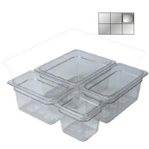 Гастроемкость GN1/6х150, поликарбонат