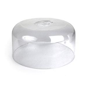Крышка-баранчик D 27см h 13,5см, пластик прозрачный