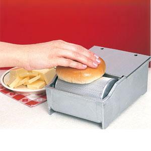 Аппарат для нанесения масла на тосты, булочки, с нагревом