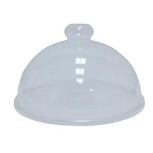 Крышка для блюд D 33см h 17,7см, пластик прозрачный
