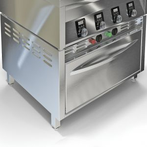 Шкаф жарочный для плит ИПП-410134, ИПК-410114, 3GN1/1, нерж.сталь