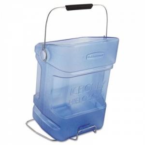 Емкость для льда с креплением на контейнер, поликарбонат синий