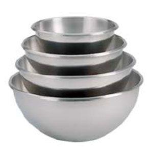 Емкость полусферическая D 24см h 12,5см 3,6л, нерж.сталь