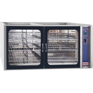 Шкаф расстоечный,  6GN1/1, 2 двери распашные стекло, +30/+85С, нерж.сталь (частично), 220V, электромех.упр., увлажнение, без крышки