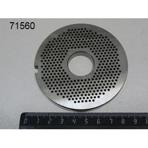 Решетка Unger для мясорубки серии 22, D2.0мм, нерж.сталь