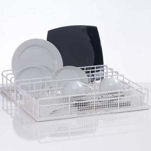 Корзина посудомоечная комбинированная для тарелок, чашек, стаканов, ст.приборов для машин посудомоечных GS500, GS630, 500х500мм (размер L), проволока