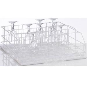 Корзина посудомоечная для стаканов для машин посудомоечных UC-M, UC-L, UC-XL, GS500, GS630, 500х500мм (размер L), 4 ряда, проволока