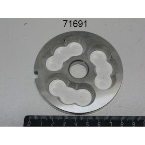 Решетка Unger подрезная для мясорубки серии 22, нерж.сталь