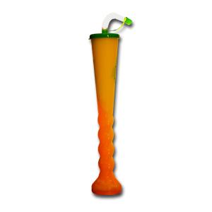 (50шт) Стакан для слаша, фигурный, 0.40л