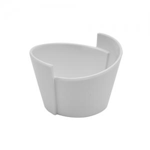 Чаша LOTUS L 8,5см w 7,7см h 5,5см 0,065мл, пластик белый