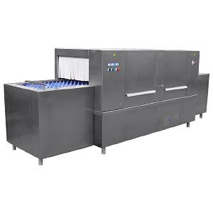 Машина посудомоечная конвейерная, 500х325мм, 1600шт./ч, универсальная, доз.опол.+моющ.