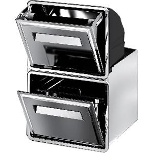 Модуль встраиваемый для отходов кофе, 2 ящика, для установки в модуль барный