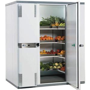Камера холодильная замковая,   3.10м3, h2.10м, 1 дверь расп.правая, ППУ80мм, левый моноблок (-2/+5С)