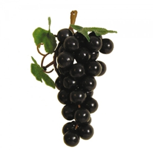 Виноград гроздь L 15см, пластик темный