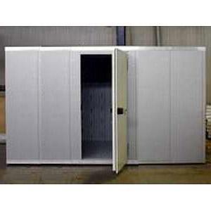Камера морозильная замковая,   5.00м3, h2.16м, 1 дверь расп.левая угловая, ППУ100мм