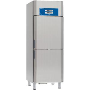 Шкаф комбинированный, GN2/1,  312л, 2 двери глухие, 4 полки, ножки, +1/+12C и -15/-26С, дин.охл., нерж.сталь